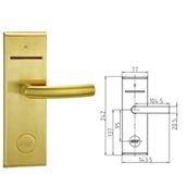930BKPDIN/LEFT Ηλεκτρονική κλειδαριά για κάρτες IC.