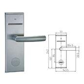 930SS-DIN /LEFT Ηλεκτρονική κλειδαριά για κάρτες IC.