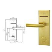 930BKPDIN/Right Ηλεκτρονική κλειδαριά για κάρτες IC.