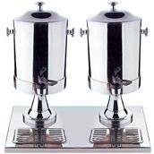 GW-D0042 Διανεμητής καφέ / χυμού διπλός 2 x 8 λίτρων