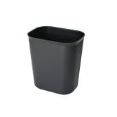 GW-G510B/BLACK Καλάθι πλαστικό μαύρο άκαυστο 28x21x31 cm