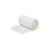 RB-4248/WH Ρολό 100 τεμ. σακούλες λευκές γραφείου - τουαλέτας MINI,: 42x48cm