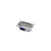 3161950 Δοχείο γαστρονομίας 18/10 - Gastronorm GN1/9 17.6x10.8x6.5cm. 0.6lt