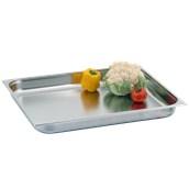 3160150 Δοχείο γαστρονομίας 18/10 - Gastronorm GN2/1 65x53x10cm. 28.5lt