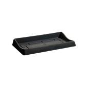 SC301-CM0080-011 Πιατάκι / βάση ζαρντινιέρας πλαστική 80x42x10.7cm ανθρακί Rotational Ιταλίας