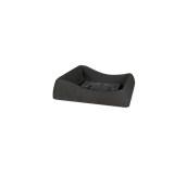SV301-H00Q40-011 Πιατάκι / βάση γλάστρας πλαστική 30x30x8cm ανθρακί Rotational Ιταλίας