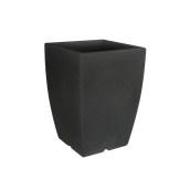 VA302-H00Q60-011 Γλάστρα πλαστική 43x43x60cm ανθρακί Rotational Ιταλίας