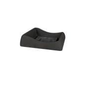 SV301-H00Q60-011 Πιατάκι / βάση γλάστρας πλαστική 45x45x11cm ανθρακί Rotational Ιταλίας