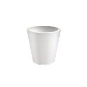 VA315-D00550-000 Γλάστρα πλαστική 55x55cm λευκή Rotational Ιταλίας