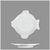 FISH-TSC Πιατάκι πορσελάνης 18.5x18.5cm για το FISH-TCP