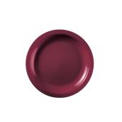 2752-08 Πιάτο πλαστικό γλυκού στρογγυλό PP 18cm μπορντό.