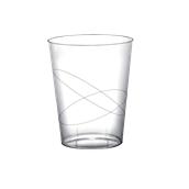 2782-21 Πλαστικό ποτήρι PS μίας χρήσης 32cl διαφανές