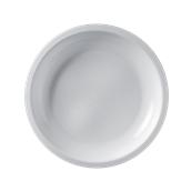 2758-11 Πιάτο πλαστικό στρογγυλό PP 23.5cm λευκό.