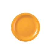 2752-82 Πιάτο πλαστικό γλυκού στρογγυλό PP 18cm πορτοκαλί.