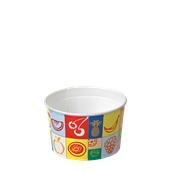 160-10 Κύπελο Παγωτού  Χάρτινο 230ml, Ιταλίας