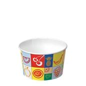 350-10 Κύπελο Παγωτού  Χάρτινο 390ml, Ιταλίας
