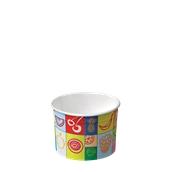 110-10 Κύπελο Παγωτού  Χάρτινο 165ml, Ιταλίας