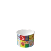 95-10 Κύπελο Παγωτού Χάρτινο 135ml, Ιταλίας