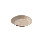 809 Πιάτο Στρογγυλό 12cm Από Φοινικόφυλλα, Βιοδιασπώμενο, Ιταλίας