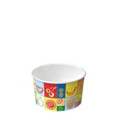 130-10 Κύπελο Παγωτού  Χάρτινο 200ml, Ιταλίας