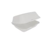 3479 Δοχείο Τροφίμων Με Καπάκι 18,5x14cm Από Ζαχαροκάλαμο, Βιοδιασπώμενο
