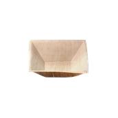 813 Πιάτο Τετράγωνο 16x16cm Από Φοινικόφυλλα, Βιοδιασπώμενο, Ιταλίας