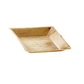 818 Πιάτο Τετράγωνο 18x18cm Από Φοινικόφυλλα, Βιοδιασπώμενο, Ιταλίας