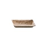 812 Δίσκος Ορθογώνιος 12x7cm Από Φοινικόφυλλα, Βιοδιασπώμενο, Ιταλίας