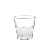 2874-21 Πλαστικό ποτήρι PS μίας χρήσης 24cl διαφανές