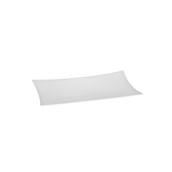 K-666/WHITE Δίσκοs Μελαμίνηs 45 X 28 cm Λευκόs, Alkan