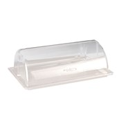 ZCP-214 Βιτρίνα Polycarbonate Roll Top Gn1/1,  Alkan