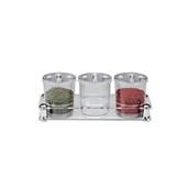 ZCP-528 Τριπλό Δοχείο για Σάλτσεs 3x0,75 λίτρα Polycarbonate, Alkan