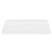 K-2005/WHITE Δίσκοs Μελαμίνηs 61.5 X 41.5 cm Λευκόs, Alkan