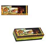 BXA-25-9-6.5 Κουτί Ψητοπωλείου Μεταλιζέ για καλαμάκι ελληνικής κατασκευής (τιμή ανά κιλό)
