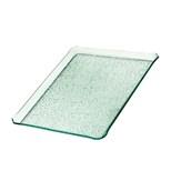 TFN2-2533GL Ακρυλικόs Δίσκοs Παρουσίασηs 25x33cm, διαφανές glass look,GARIBALDI