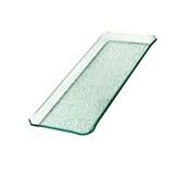 TFN2-2040GL Ακρυλικόs Δίσκοs Παρουσίασηs 20x40cm, διαφανές glass look,GARIBALDI