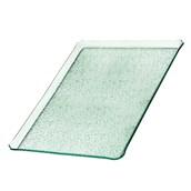 TFN2-3353GL Ακρυλικόs Δίσκοs Παρουσίασηs 33x53cm, διαφανές glass look,GARIBALDI