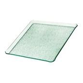 TFN2-3333GL Ακρυλικόs Δίσκοs Παρουσίασηs 33x33cm, διαφανές glass look,GARIBALDI