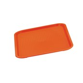 81140R Δίσκος Fast Food πολυπροπυλενίου 35x27cm, Κόκκινος