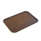 MFE-1520BR Δίσκος Σερβιρίσματος Fiberglass, Ορθογώνιος Αντιολισθητικός 51x38cm, Καφέ