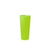 CH302-H00R85-123 Γλάστρα πλαστική 38x85cm πράσινη Rotational Ιταλίας