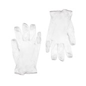 GVI-PD/L Σετ 100τεμ γάντια Βινυλίου χωρίς Λάτεξ, με πούδρα - LARGE