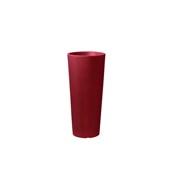 CH302-H00R85-139/146 Γλάστρα πλαστική 38x85cm κόκκινη γυαλιστερή Rotational Ιταλίας