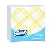 1100330045 Πακέτο 100 Χαρτοπετσέτες Mega, 33x33, καρό κίτρινες, ENDLESS