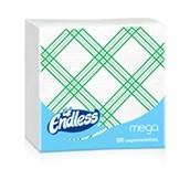1100330044 Πακέτο 100 Χαρτοπετσέτες 33x33, καρό πράσινες, ENDLESS