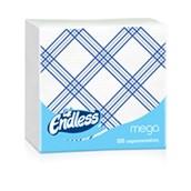 1100330043 Πακέτο 100 Χαρτοπετσέτες Mega, 33x33, καρό μπλε, ENDLESS
