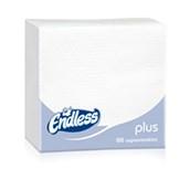 1100300022 Πακέτο 100 Χαρτοπετσέτες Plus, 30x30, λευκές, ENDLESS