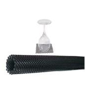 SCHBLK Δίχτυ Στραγγίσματος Σε Ρολλό, Μαύρο, 300x60x0,4cm, The Bars, Ιταλίας