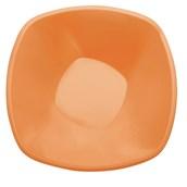 4060-60 Πιατέλα σαλάτας PP πλαστική τετράγωνη 28cm, 3 lt πορτοκαλί πολυτελείας.