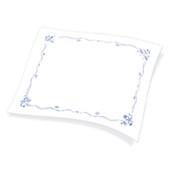 1100791307 Χάρτινο Τραπεζομάντηλο Εστιατορίου, 100x130 cm, 3φυλλο, σχέδιο θάλασσα, ENDLESS
